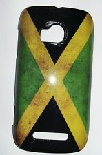 NOKIA LUMIA 710 N710 COVER case FLAG BANDIERA FLAG JAMAICA VINTAGE jamaica CASE