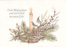 Glückwunschkarte zum Weihnachtsfest und zum Neuen Jahr Motiv 15