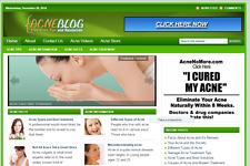Acne Guide Blog Store Website Free Installation+Hosting