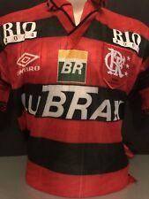 153a5d2bf Retro Umbro Flamengo Home Shirt Umbro Medium Romario 10