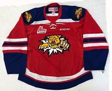 New Authentic Pro Stock Ccm Moncton Wildcats Qmjhl Hockey Jersey size 56 7287