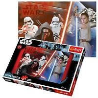 Trefl 200 Piece Kids Boys Star Wars Lightsabers Fight Stormtrooper Jigsaw Puzzle