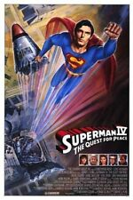 SUPERMAN IV QUEST FOR PEACE MOVIE POSTER 1 Sided ORIGINAL 27x40
