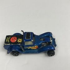Zylmex D18 Ford Pickup Cherry Bomb Blue Made in Hong Kong 1970's