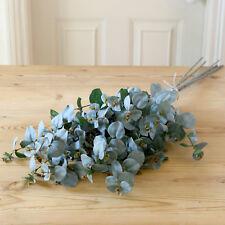 Bouquet artificiale d'eucalyptus - 5 steli in Seta Sintetica eucalipto handmade in UK