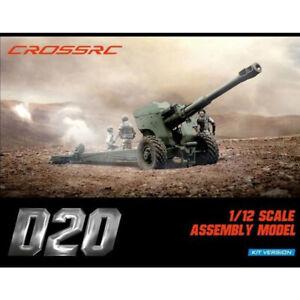 Cross RC D20 1/12 Howitzer Gun Trailer Kit for Military Vehicles CZR90100044