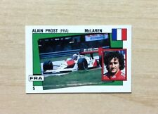 FIGURINE PANINI - SUPERSPORT 1988-89 -FIG. N°5 A.PROST / N°3 P.GIOVANNELLI - NEW