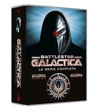 Dvd Battlestar Galactica: La Serie Completa Boxset Stagioni 1-4 (25 Dvd) ..NUOVO