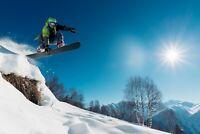 A1   Snowboarder Poster Art Print 60 x 90cm 180gsm Snowboarding Gift Snow #8113