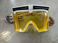VTG 70s 80s Perillat Goggles Solar Snowboarding Ski Racing Winter Bike Gear