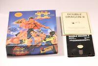 RARE RETRO AMSTRAD CPC 464 DISK GAME -- DOUBLE DRAGON II  -- 1989
