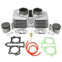 Cylinder Piston Gasket Filter Pipe Kit for Honda CA250 CMX250 12100-KBG-671 53mm