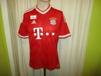 "FC Bayern München Original Adidas Heim Trikot 2013/14 ""-T---"" Gr.S- M Neu"