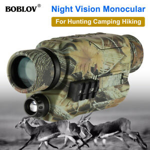 Infrared Night Vision Monocular Photo Video Camera Scope Hunting w/ 16G Card