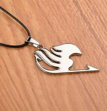 NEW Fairy Tail LOGO The union flag Sign cosplay necklace pendant Silver A06
