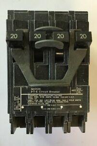 ITE Q22020 CIRCUIT BREAKER 20 AMP 2 POLE