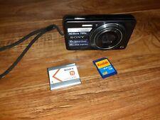 #O) Sony Cyber-shot 16.1Mega Pixels 10XZoom Digital Camera DSC-W690 Works GREAT