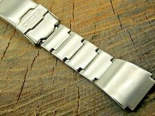 Vintage Seiko Deployment Clasp Watch Band 17.5mm Stainless Steel NOS Unused Mens