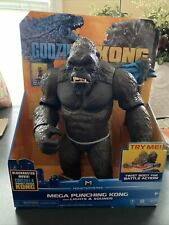 "PLAYMATES MONSTERVERSE GODZILLA VS KONG 13"" MEGA PUNCHING KONG SOUNDS & LIGHTS"