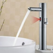 Infrarot Sensor Wasserhahn Waschtischarmatur Hoch Bad Waschbecken Mischbatterie