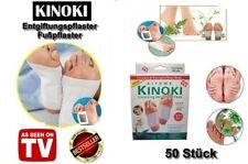 50 Stück Kinoki Pflaster Vitalpflaster Fusspflaster Bambuspflaster Fuß Pads