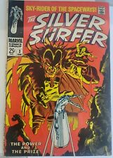 Silver Surfer. #3  (5.0)-6.0)Dec.    1968.     1st Appearance Mephisto!!!