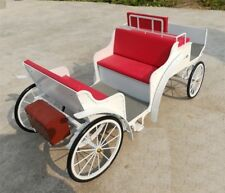 """1/6 Scale 12"""" Diecast  White Carriage"""