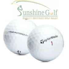 100 AAA TaylorMade Tour Preferred X Used Golf Balls (3A) - FREE SHIPPING