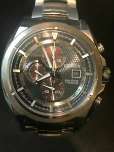 CITIZEN Eco Drive Titanium Watch
