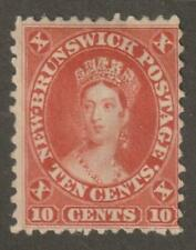 Canada New Brunswick 1860 #9 Queen Victoria - F MnoG