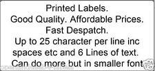 1900 Personalizzato Autoadesivo pre stampate le etichette su rotolo