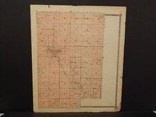 Nebraska Boone County Map Cedar Rapids Township  c.1918  J14#49