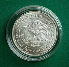 1/2oz Silver Trade Unit .999 Silver Bullion Round in Capsule