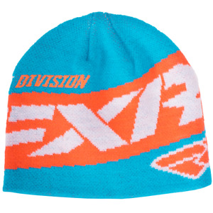 FXR PODIUM BEANIE CAP HAT - Aqua / Tangerine -  ONE SIZE FITS MOST - GREAT GIFT!