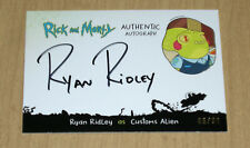 2020 Cryptozoic Rick Morty Season 3 autograph auto Ryan Ridley CUSTOMS ALIEN 50