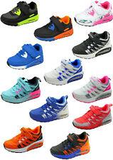 Kinder Sneaker Sporschuhe Sport Freizeit Schuhe Kita Turnschuhe Klett Gr. 25-36