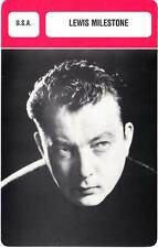 FICHE CINEMA :  LEWIS MILESTONE -  USA (Biographie/Filmographie)