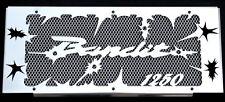 "cache / Grille de radiateur Suzuki GSF 1250 Bandit 07>15 ""hold up"" + grill. alu"