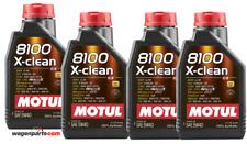 Aceite Motor Motul 8100 X-Clean 5W40 ACEA C3, 4 Litros