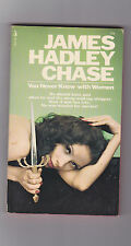 VINTAGE MYSTERY PB.JAMES HADLEY CHASE.YOU NEVER KNOW WITH WOMEN.IST U.S.PB ED.