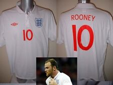 England Wayne Rooney Shirt Jersey Football Soccer Adult Medium Manchester United