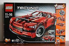 Lego Technic Model Traffic Set 8070-1 Supercar 100% complete +instructions +box