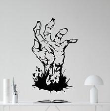 Zombie Hand Wall Decal Grave Walking Dead Vinyl Sticker Art Decor Mural 303xxx