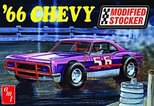 1:25 AMT 1966 Chevy DIRT LATE MODEL Modified Stocker *PLASTIC MODEL KIT* MISB!