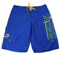 Parramatta Eels Mens Board Shorts Size L Blue & Gold Rugby League