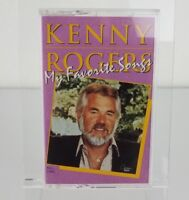 """Kenny Rogers """"My Favorite Songs"""" Cassette Tape Excellent Condition."""