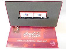 MES-54088Electrotren LC 21042 H0 Güterwagen DB Coca Cola K-NEM