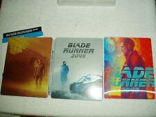 Blu Ray Blade runner 2049 + lenticular STEELBOOK