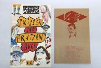 Skizzen und Fratzenbuch mit Illustrationen von Volker Pfüller und einer Beilage