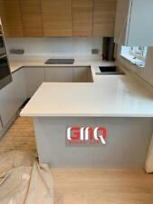 Bianco Grigio Quartz Worktop | Affordable prices | Sample